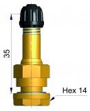 Вентиль латунный б/к  R-0964-2